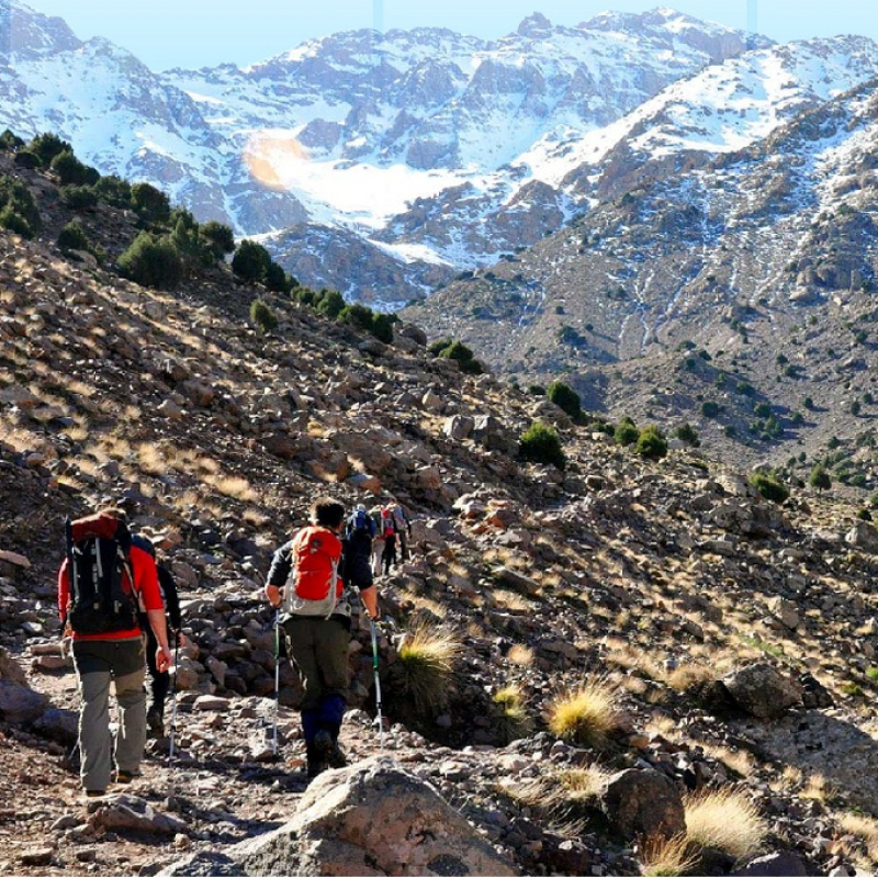 Aventure: Trekking & Ascension du Mont Toubkal